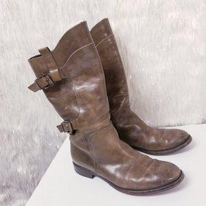 ALBERTO FERMANI tall riding boots